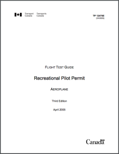Recreational Pilot Permit
