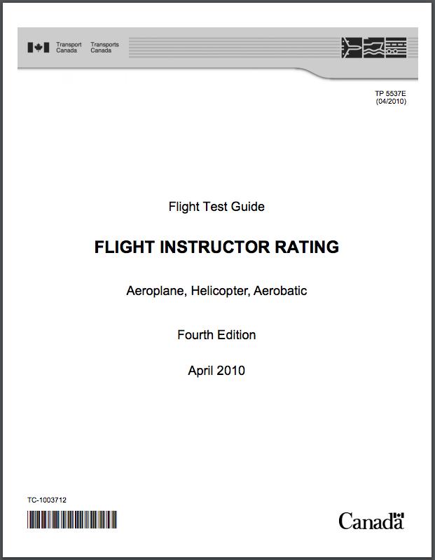 Flight Instructor Licence