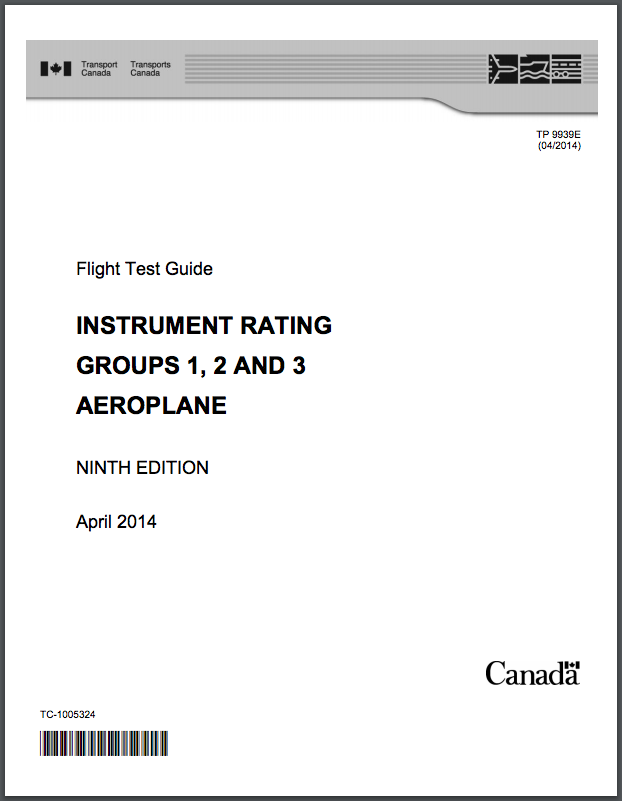 Instrument Rating Aeroplane