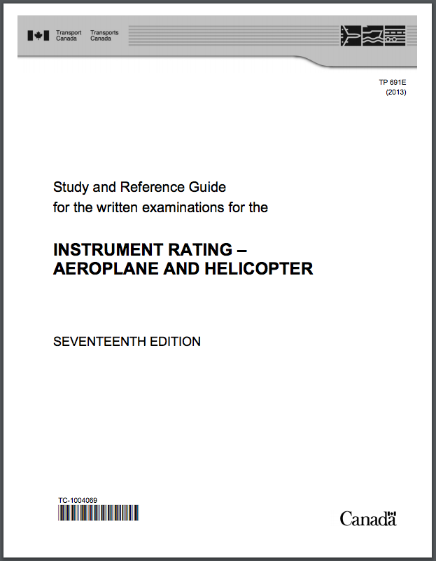 Instrument Rating Study Guide