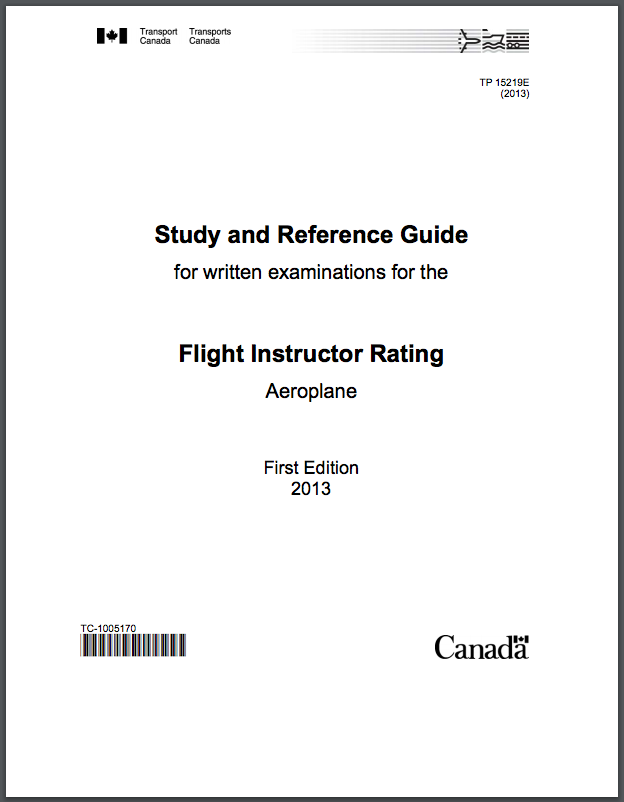 Flight Instructor Rating Study Guide